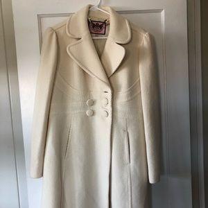 Juicy Couture heavy wool coat
